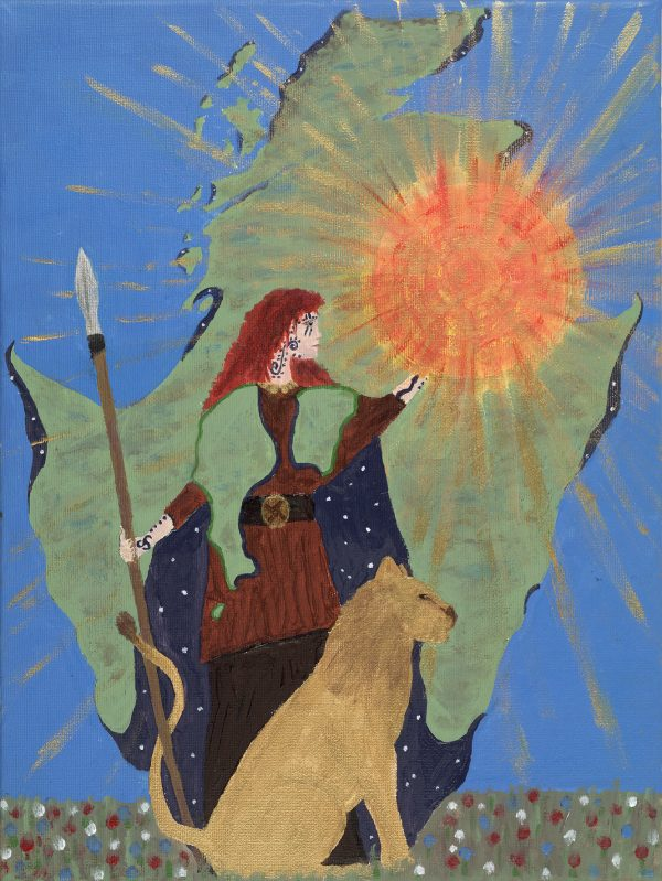 Britannia card by Marion Brigantia