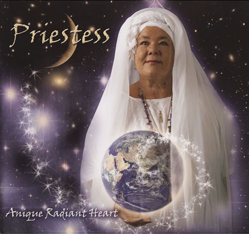 Priestess CD by Anique Radiant Heart