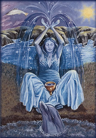 Domnu, Mother of Water card