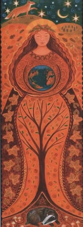 Goddess Banner Earth Goddess