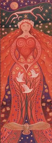 goddess banner lover goddess