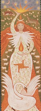 Maiden Goddess Card