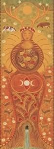 Mother Goddess Card