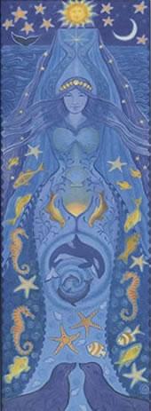 Goddess Banner Water Goddess