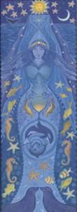 Water Goddess Card