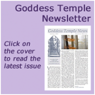 Goddess Temple Newsletter