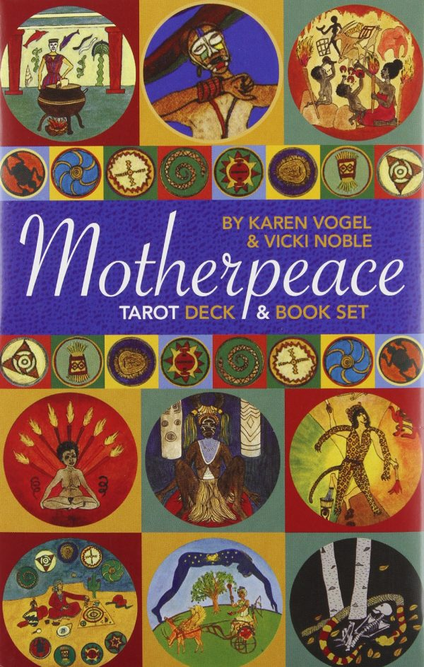 Motherpeace Tarot cards and book