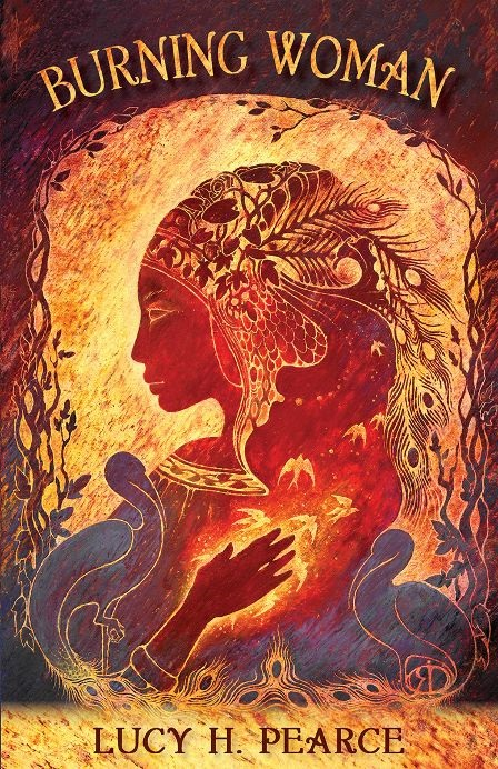 burning woman by lucy pearce