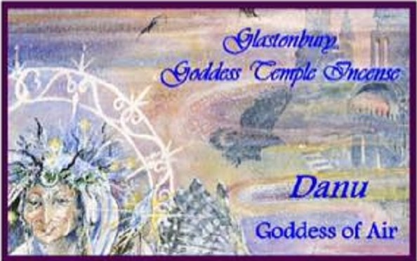 Goddess Temple Incense For Danu