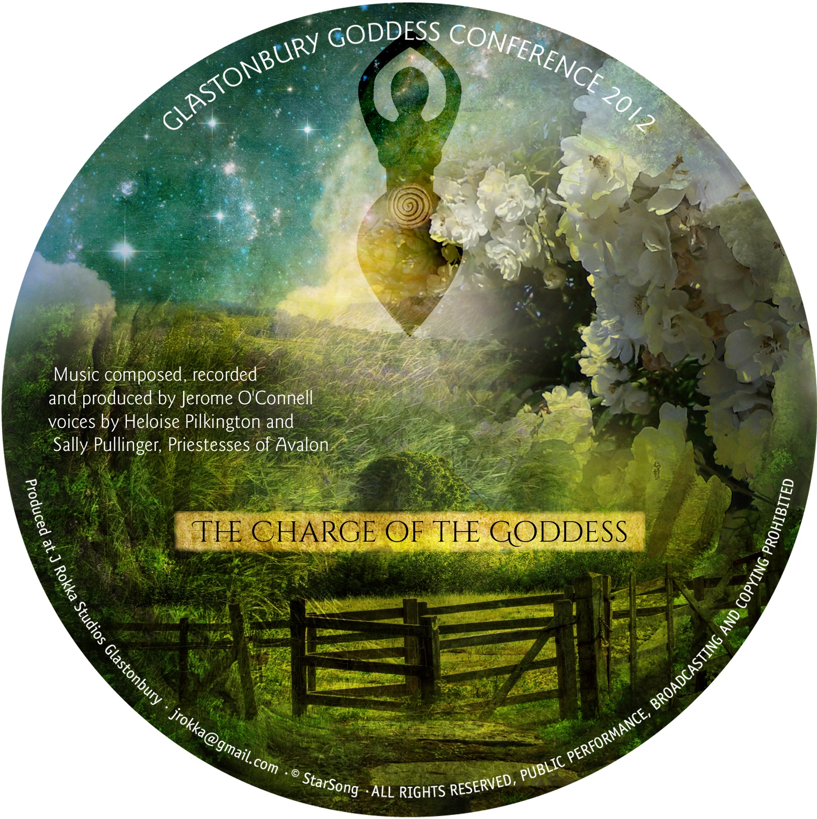 the charge of the goddess cd by sally pullinger
