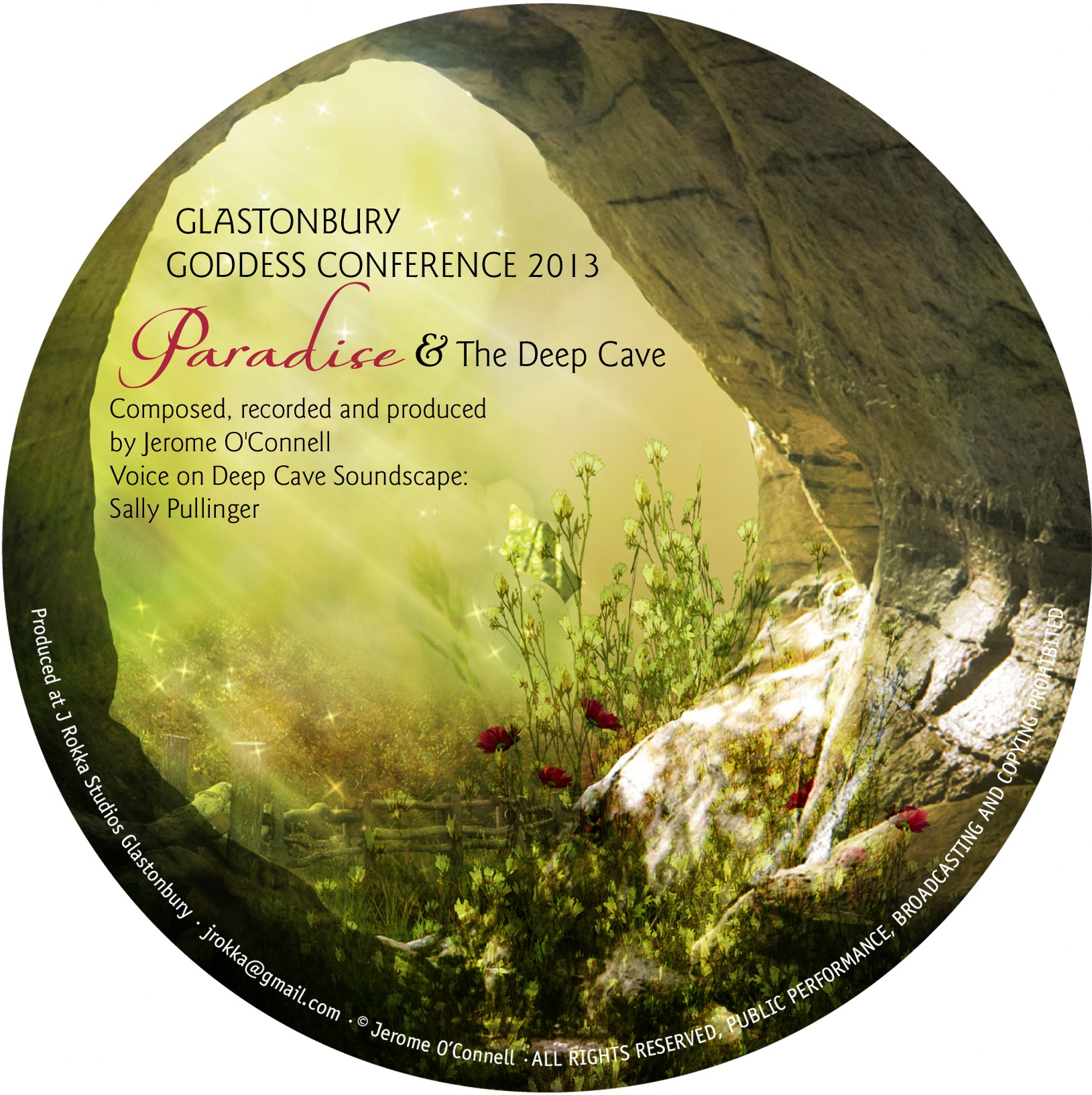 paradise and the deep cave cd by sally pullinger