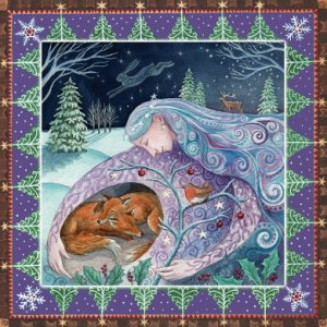 Animal Love Yule Gift Card Set by Wendy Andrew