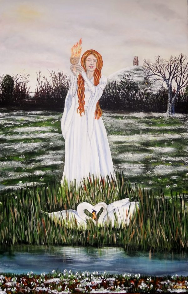 Brighde by Elluna Art A3 Size Print