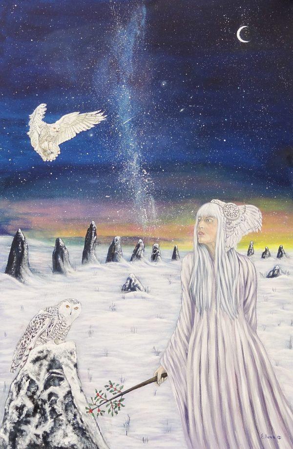 Danu by Elluna Art A3 Size Print