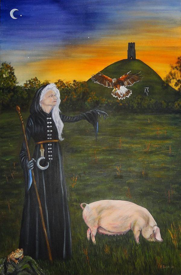 Morgen Mazoe by Elluna Art A3 Size Print