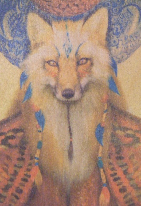 fox nature timbergram