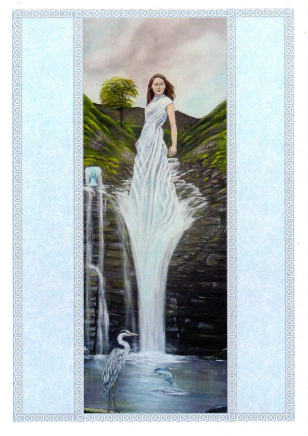 Domnu by Elluna Art A3 Size Print