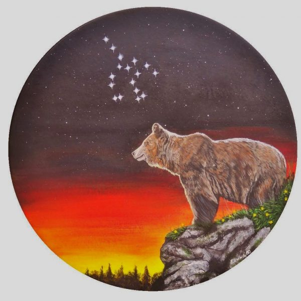 Artha Great She Bear Gift Card by Elluna Art